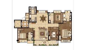 碧桂园·天境 4室2厅3卫 180平方米 毛坯