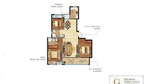 奥体壹號 3室2厅2卫 144.83平方米 毛坯