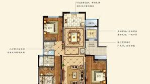 悦达·悦珑湾 3室2厅2卫 132平方米 毛坯