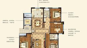 悦达·悦珑湾 4室2厅2卫 169平方米 毛坯