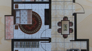振兴嘉园 3室2厅1卫 93平方米 毛坯