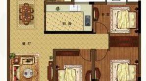 港湾明珠南苑 3室2厅2卫 115平方米 毛坯