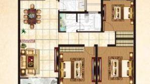 盛世明都 3室2厅1卫 114平方米 毛坯