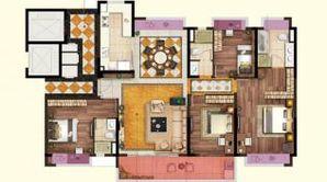 碧桂园凤凰城 4室2厅3卫 190平方米 精装