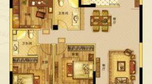 钱江绿洲 3室2厅2卫 123平方米 毛坯