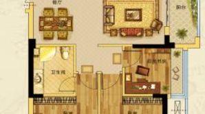 钱江绿洲 4室2厅2卫 132平方米 毛坯