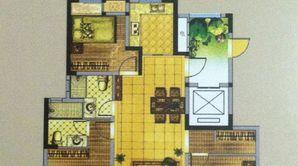 冠亨名城 3室2厅1卫 112平方米 毛坯