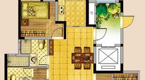冠亨名城 3室2厅2卫 126平方米 毛坯