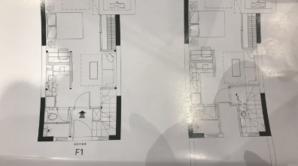 万科星荟 2室2厅2卫 68平方米 毛坯
